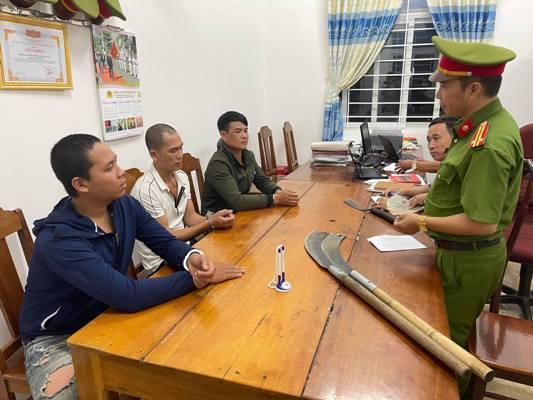 Cướp tài sản,Nhóm thanh niên,Công an huyện M'Drắk