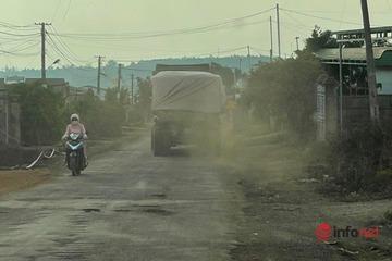Vụ xe chở đá cày nát đường và câu trả lời không ngờcủa Chủ tịch huyện Ea H'Leo
