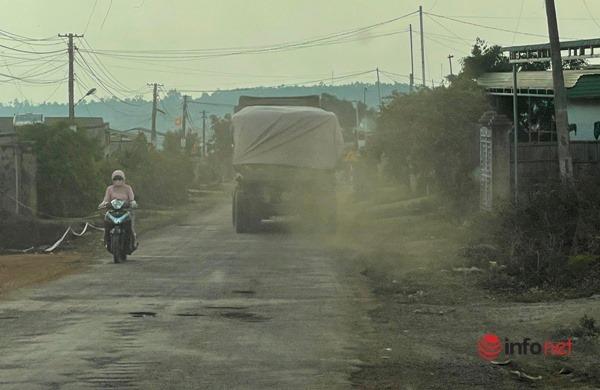 xe chở đá,nát đường,Tập đoàn Trung Nam,Đắk Lắk
