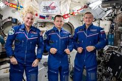 Ba phi hành gia trở lại Trái Đất sau 185 ngày trên ISS
