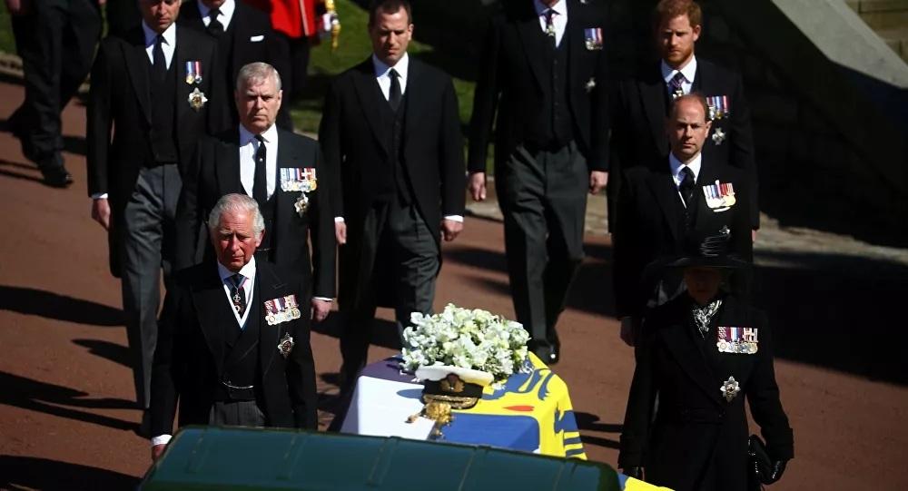 hoàng gia anh,đám tang,hoàng thân Philip,hoàng tử harry