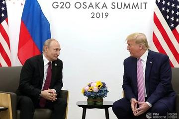 Ông Trump mở lời về mối quan hệ với Tổng thống Putin