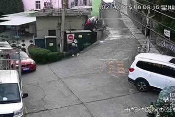 Cho ô tô leo dốc bất thành, nữ tài xế gặp nạn