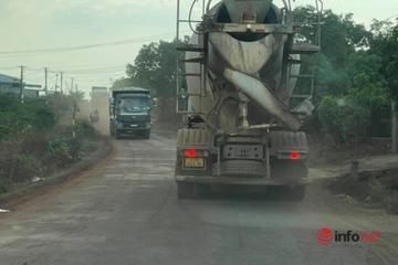 """Đắk Lắk: CSGT trấn áp xe quá tải, loạt tài xế ma mãnh cho xe """"bất động"""" né phạt"""