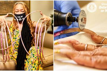 Dị nhân cắt bỏ bộ móng tay dài nhất thế giới