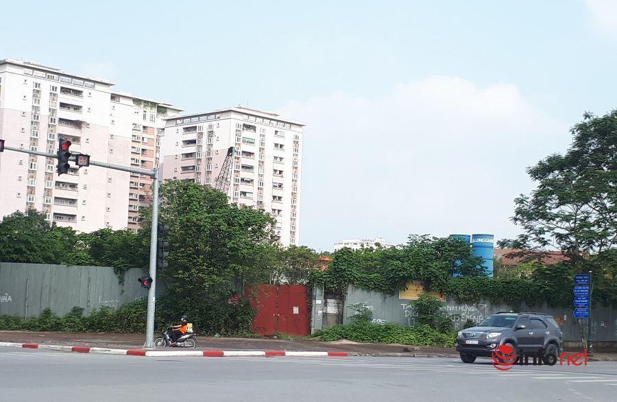 Sắp hết gia hạn, dự án ôm 'đất vàng' của Công ty Long Giang vẫn um tùm cỏ giữa Hà Nội, liệu có bị thu hồi?