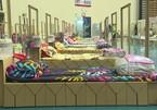 Tránh kịch bản Ấn Độ, bệnh viện dã chiến Thái Lan lắp giường làm từ bìa các tông