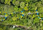 Choáng với máng trượt nước dài thườn thượt hơn 1 km ở Malaysia