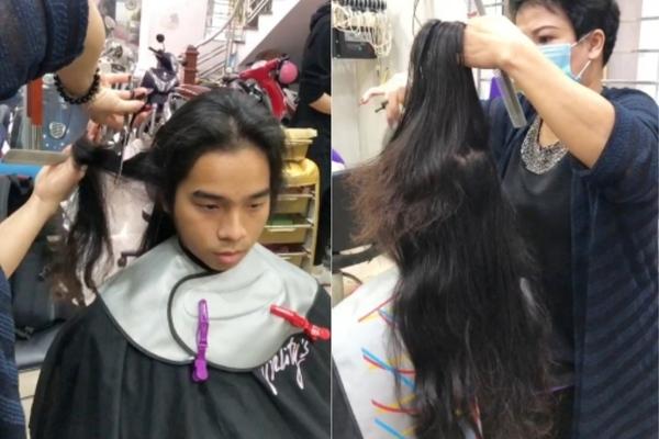 Vướng víu, nóng bức, bị kỳ thị, những chàng trai nuôi tóc dài vì bệnh nhân ung thư đích thực là đàn ông tuyệt vời