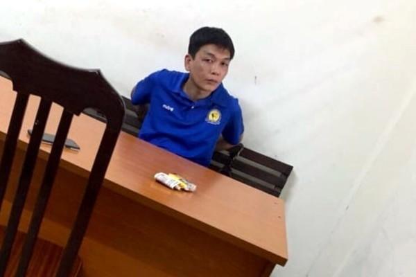 CSGT Hà Nội cùng người dân bắt gọn tên cướp trên đường
