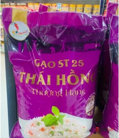 Thị trường vô vàn loại gạo ST25, khó biết thật giả