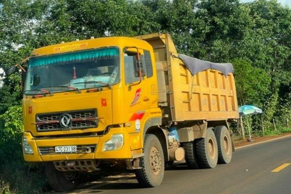 Đắk Lắk: Nhiều xe chở quá tải gần 200% đã bị phạt nặng