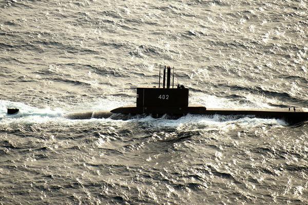 Indonessia,tàu ngầm,mất tích,Tàu KRI Nanggala 402