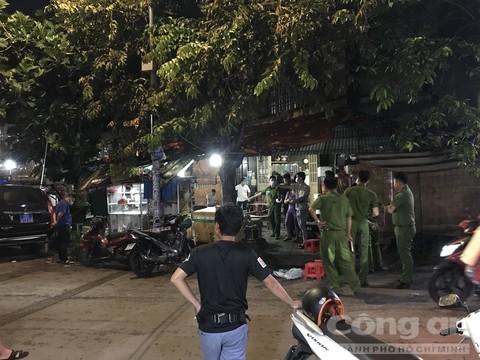 Thầu đề bị đâm chết trong chợ đầu mối ở Sài Gòn