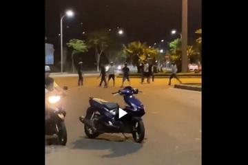 Truy tìm hai nhóm thanh niên đâm chém loạn xạ trong đêm ở Đà Nẵng