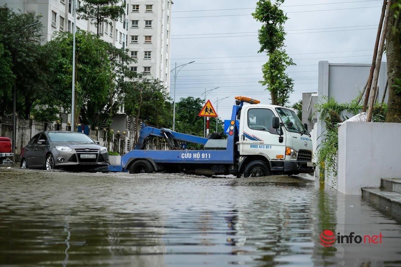 Ô tô đậu quanh nhà bị ngập sâu, hư hỏng có được bảo hiểm bồi thường?