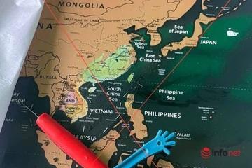 Cộng đồng chạy bộ phẫn nộ vì được tặng bản đồ có đường lưỡi bò phi pháp