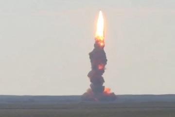 Video quân đội Nga phóng thử tên lửa đánh chặn nhanh nhất thế giới