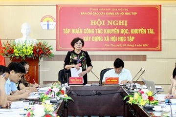 Phú Thọ: Nỗ lực xây dựng xã hội học tập