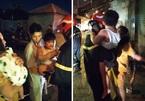Cảnh sát PCCC TP.HCM cứu hàng chục người mắc kẹt trong chung cư mini bốc cháy lúc nửa đêm