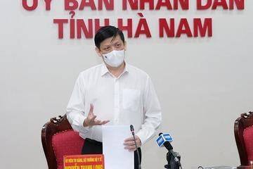 Bộ Y tế điều động chuyên gia hỗ trợ Hà Nam ngay trong đêm 29/4
