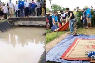 Nghệ An: Lại phát hiện thi thể người phụ nữ nổi trên sông Đào