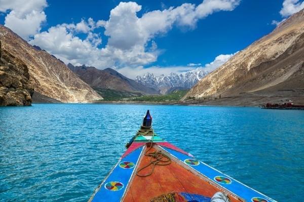 hồ nước,Pakistan,động đất,lở đất,sông Hunza