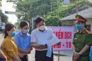 Vĩnh Phúc có 5 người dương tính Covid-19, mọi người dân về Hà Nội phải khai báo y tế