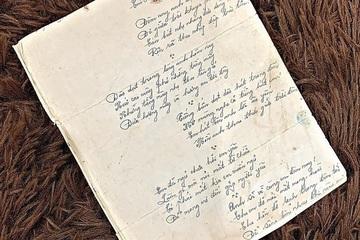 """Bức thư tình thời chiến khiến giới trẻ xúc động, """"ghen tị"""" về độ lãng mạn"""