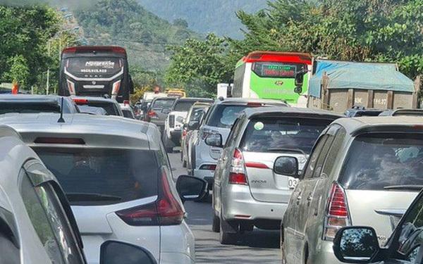 tắc đường,Đà Lạt,Lâm Đồng