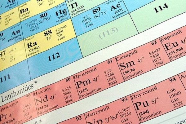 Bé gái đọc tên tất cả các nguyên tố của bảng tuần hoàn hóa học trong 2 phút