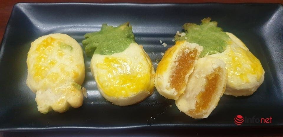 Đổi vị cuối tuần với bánh dứa Đài Loan dẻo dẻo chua ngọt vô cùng hấp dẫn