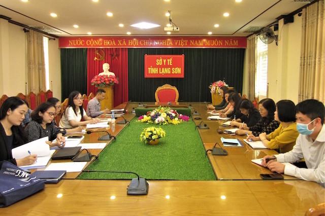 Quỹ phòng chống tác hại thuốc lá giám sát công tác phòng chống tác hại thuốc lá tại Lạng Sơn