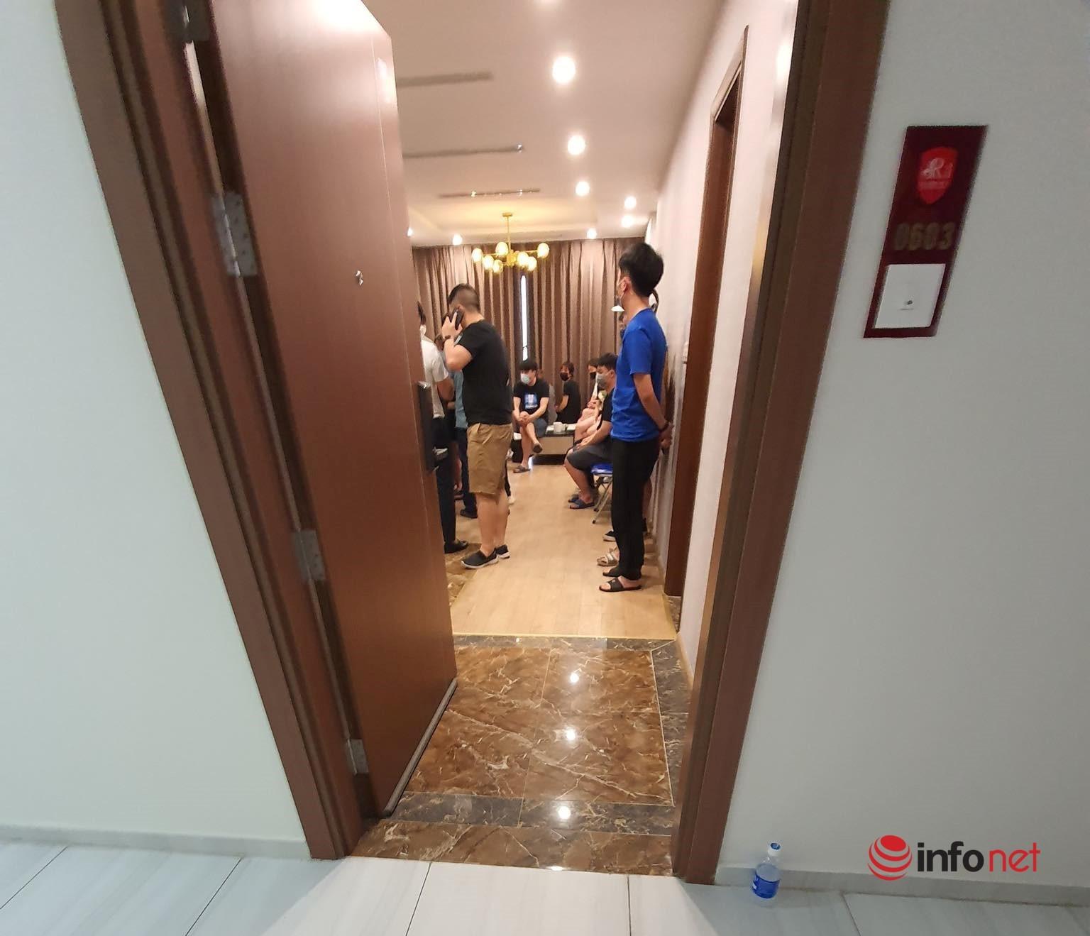 46 người Trung Quốc nhập cảnh trái phép ở chung cư Hà Nội đưa đi cách ly ở đâu?