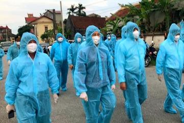 Nam bác sĩ Bệnh viện Nhiệt đới Trung ương dương tính SARS-CoV-2