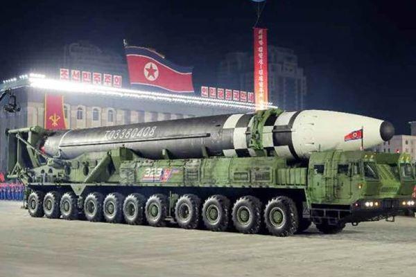 kim jong-un,joe biden,hạt nhân,tên lửa