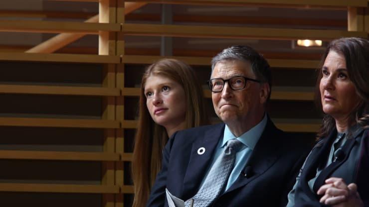 Con gái Bill Gates học cách cân bằng cảm xúc sau tin bố mẹ ly hôn