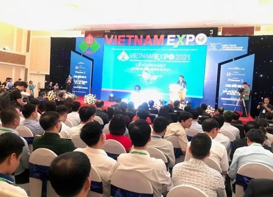 Hơn 300 doanh nghiệp tham gia Hội chợ Vietnam Expo 2021