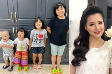 """""""Hot mom 4 con"""" MC Minh Trang mách nước dạy dỗ bầy con những ngày nghỉ học phòng dịch"""
