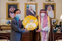 Đại sứ VN tại Saudi Arabia thăm, làm việc, xúc tiến thương mại - đầu tư tại tỉnh Qassim