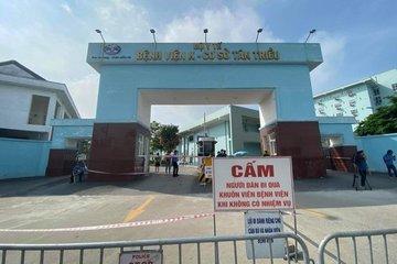 BV K báo cáo gì về 10 ca dương tính với SARS- CoV-2 tại cơ sở Tân Triều?