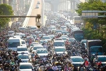 Tuyên truyền nhiều nhưng giao thông Hà Nội vẫn kiểu 'mạnh ai nấy đi'
