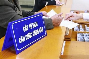 Những quận, huyện nào của Hà Nội dừng cấp căn cước công dân gắn chíp?