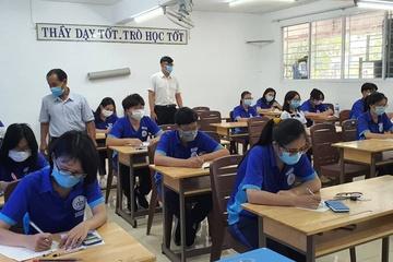 Dồn dập kiểm tra ngày 3 môn, nhiều trường tại TP.HCM nghỉ hè sớm