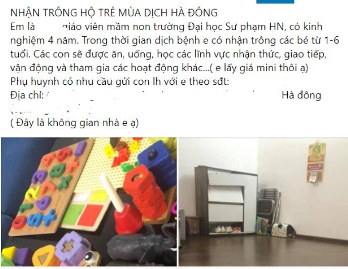 Giáo viên mầm non nhận trông nhóm trẻ tại nhà trong mùa dịch có đúng luật?