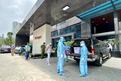 Phong toả một chung cư cao cấp có ca dương tính SARS-CoV-2