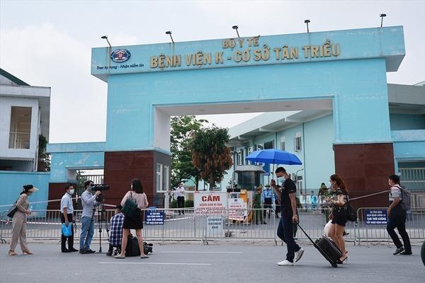 Chiều 12/5, Hà Nội phát hiện thêm 3 ca dương tính với SARS- CoV- 2, 2 vợ chồng ở chung cư Center Point