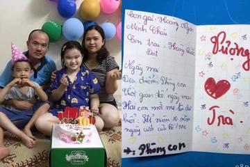 """""""Bà cụ non"""" lớp 4 tổ chức kỷ niệm 10 năm ngày cưới cho bố mẹ"""