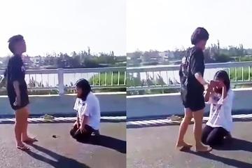 Bất ngờ trước nguyên nhân vụ nữ sinh lột áo, đánh bạn ở Quảng Nam