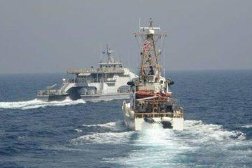 Tuần duyên Mỹ nổ 30 phát súng khi tàu hải quân Iran áp sát quá gần